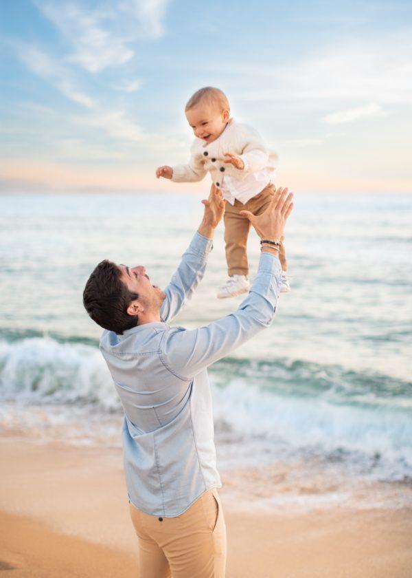 shooting enfant famille ajaccio plage